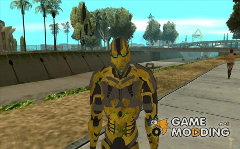Cyrax 2 из Mortal kombat 9 for GTA San Andreas