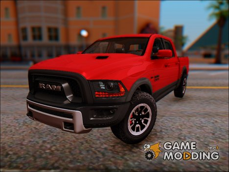 Dodge Ram Rebel 2017 для GTA San Andreas