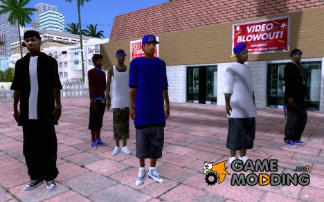 Imperial Gangsta для GTA San Andreas