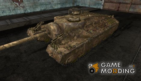 Шкурка для пт-сау T95 №13 для World of Tanks