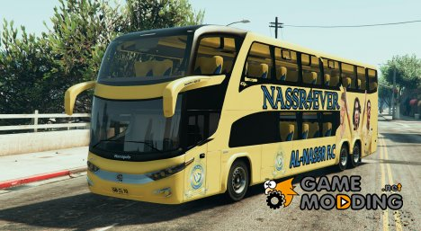 Al-Nassr F.C Bus for GTA 5