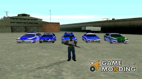 Полиция Германии для GTA San Andreas