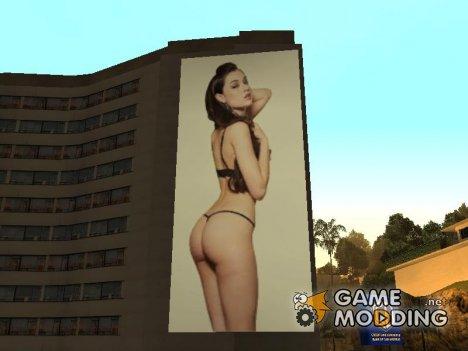 Плакат Саши Грей for GTA San Andreas