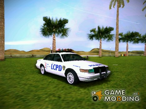 GTA IV Police Cruiser for GTA Vice City