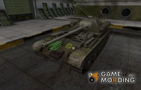 Качественные зоны пробития для СУ-101 for World of Tanks