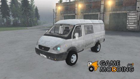 ГАЗ 2705 v1.01 для Spintires 2014
