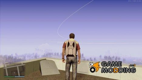 Белый парашют из GTA 5 v 1.1 для GTA San Andreas