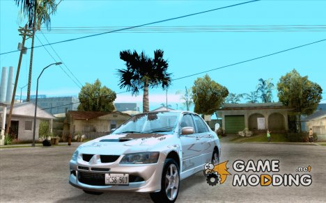 Mitsubishi Lancer Evolution 8 Tuneable for GTA San Andreas