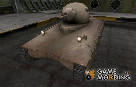 Пустынный французкий скин для AMX 40 для World of Tanks