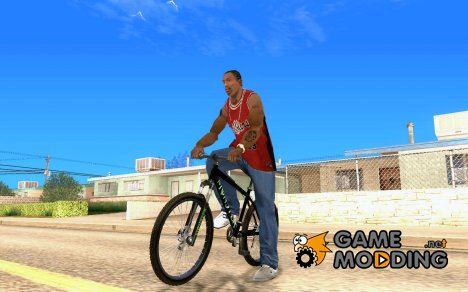 Mountain Bike Monster Energy (HQ) for GTA San Andreas