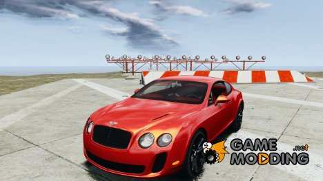 Bentley Continental SS 2010 Gumball 3000 для GTA 4