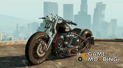Harley-Davidson Knucklehead Bobber HQ for GTA 5