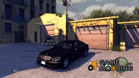 Mercedes-Benz S600 (W220) for Mafia II