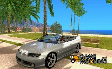 HSV GTS Cabrio для GTA San Andreas