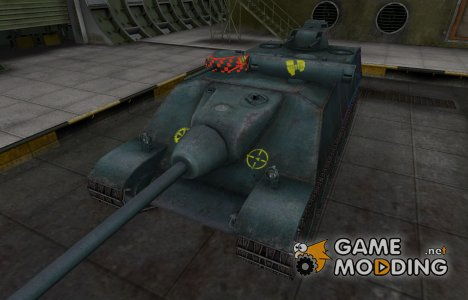 Контурные зоны пробития AMX AC Mle. 1948 для World of Tanks