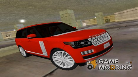 2014 Range Rover Vogue для GTA Vice City