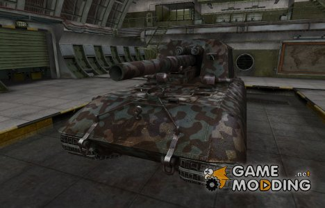 Горный камуфляж для GW Typ E для World of Tanks