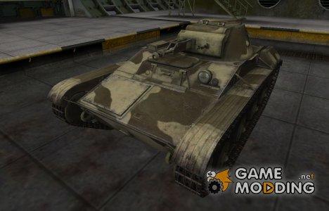 Пустынный скин для Т-60 для World of Tanks