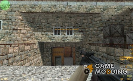 Twinke Masta AKS74 on Wildbill Anims for Counter-Strike 1.6