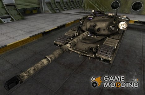 FV4202 105 ремоделинг Desert для World of Tanks