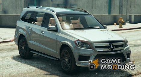 Mercedes GL63 AMG v1.3 for GTA 5