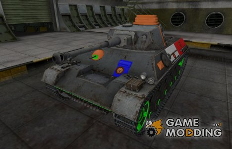 Качественный скин для PzKpfw III/IV для World of Tanks