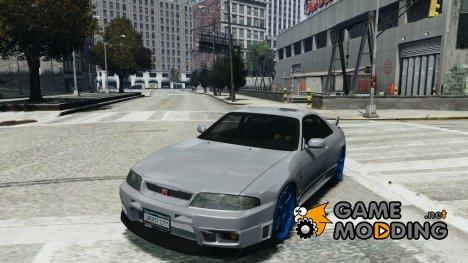 Nissan Skyline R33 GTR V-Spec for GTA 4