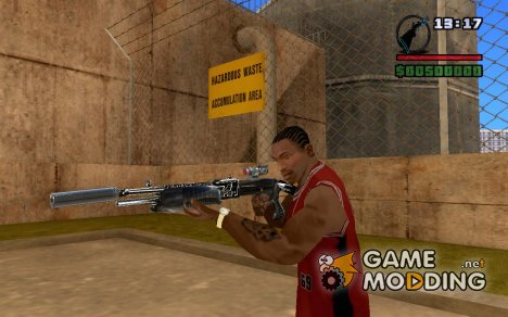 New Chrome ShotGun для GTA San Andreas