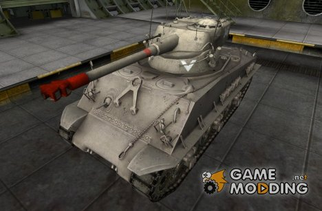 Шкурка для M4A3E8 Sherman (+remodel) for World of Tanks