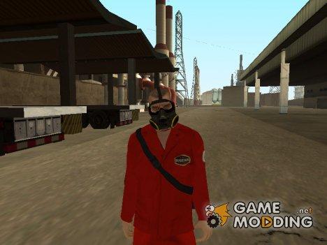 Robber from GTA V beta for GTA San Andreas