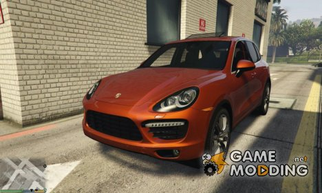 2012 Porsche Cayenne Turbo for GTA 5