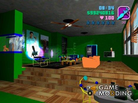 Новые текстуры отеля for GTA Vice City