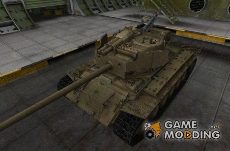 Шкурка для T26E4 SuperPerhing для World of Tanks