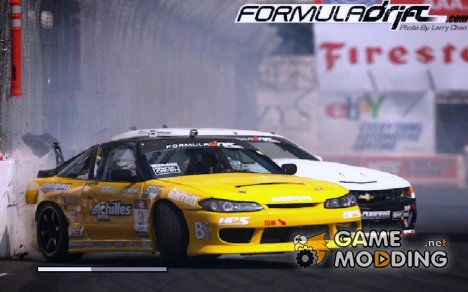 Загрузочные экраны Formula Drift для GTA San Andreas