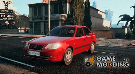Hyundai Accent Admire for GTA 5