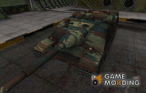 Французкий новый скин для AMX 50 Foch for World of Tanks