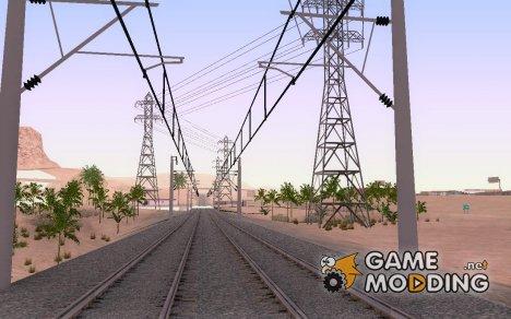 Новая железная дорога для GTA San Andreas