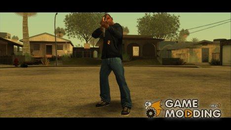 Новая одежда CJ в начале игры 2.0 для GTA San Andreas