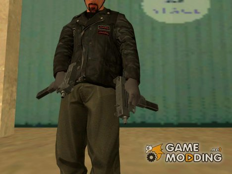 Micro Uzi Grand Theft Auto 4 for GTA San Andreas