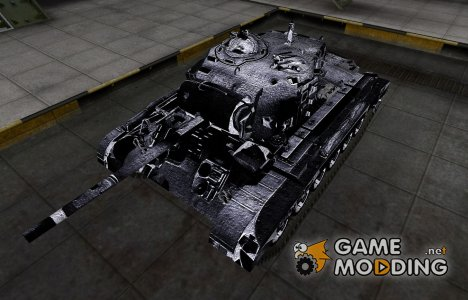 Темный скин для M26 Pershing для World of Tanks