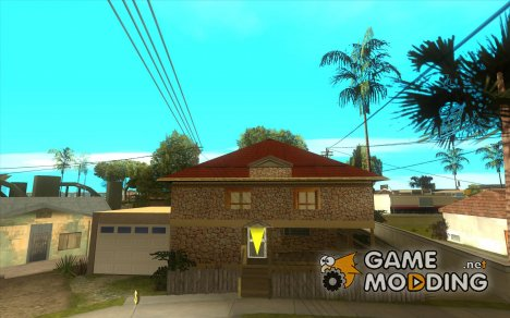 New CJ's House for GTA San Andreas