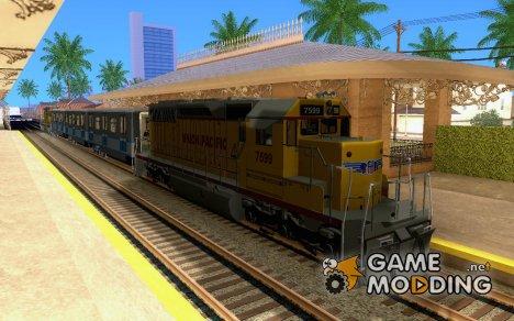 Локомотив SD 40 Union Pacific for GTA San Andreas