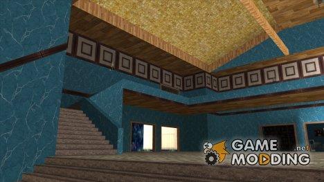 Новые текстуры интерьера особняка Мэдд Догга for GTA San Andreas