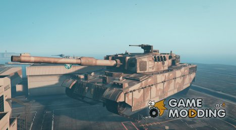 Mega Giant God GTA 5 Tank MOD для GTA 5