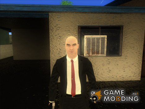 Agent 47 from Hitman Absolution для GTA San Andreas