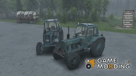 МТЗ 82 for Spintires 2014