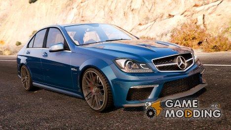 Mercedes-Benz C63 AMG v2 for GTA 5