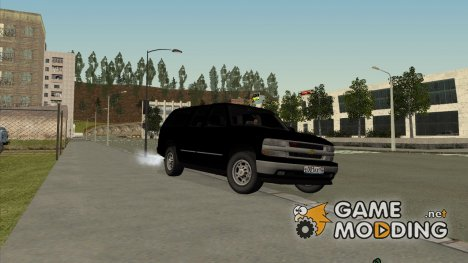 Chevrolet Suburban 1998 FBI для GTA San Andreas