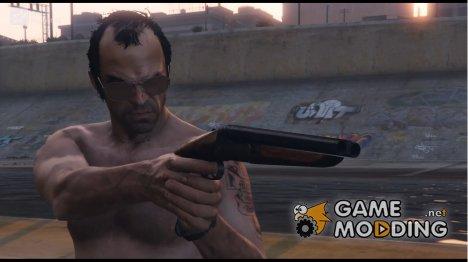 12 Gauge Sawed-Off Double Barrel Shotgun for GTA 5