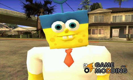 Spongebob as Mr.Invincibubble для GTA San Andreas